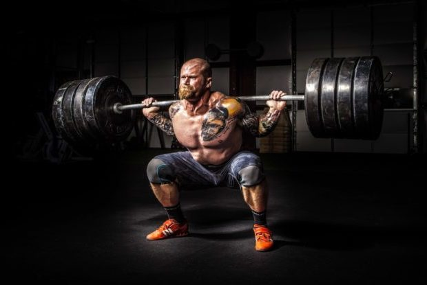Explosive Power Squat For MMA